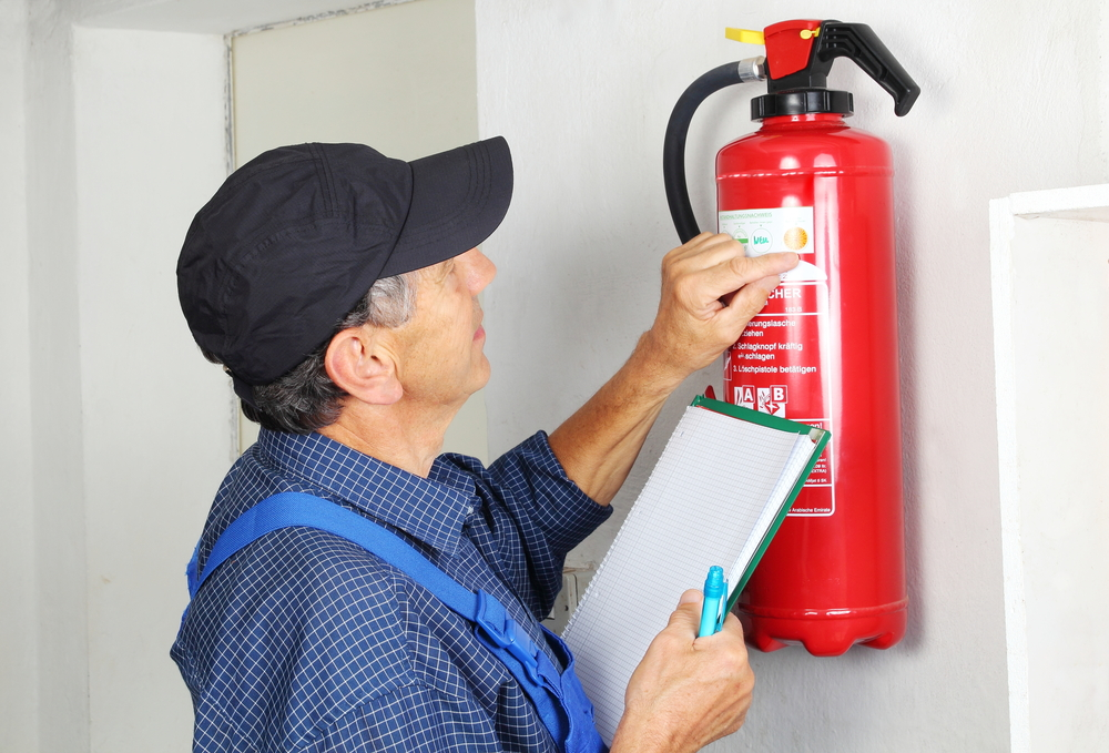 fire extinguisher inspection