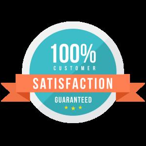 100 customer satisfaction guaranteed