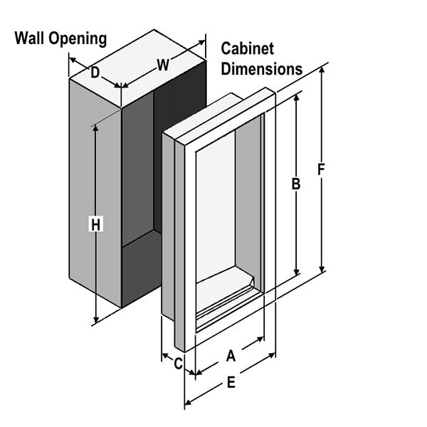 cabinet dimensions assembly oval 1